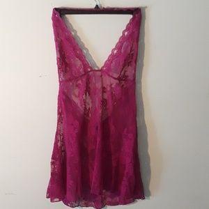 Victoria's Secret halter neck negligee